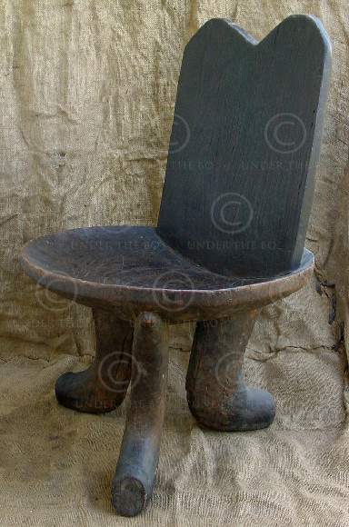 Chaise africaine af7 guraje ethiopie arts et for Chaise africaine